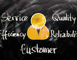 Costumer services values