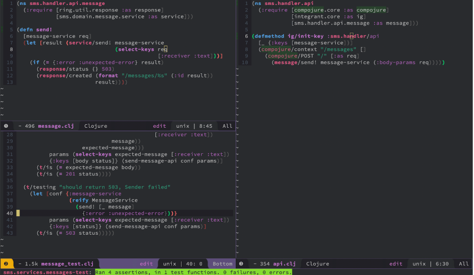 Code overview with Duct n.4