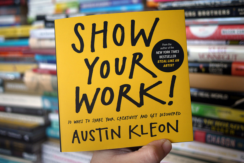 Photo of Show your work book